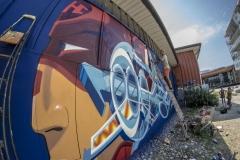 #WILL #K1 #KILLAH-ONE #SREK #GREG #DISCRE #STREETART #AUTHENTIKKOOLURE #SRAYPAINT #GRENOBLE #GRAFFITI